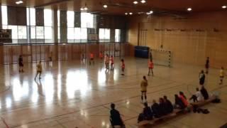 SIF B-tytöt Berlin Handball Cup ottelupätkä 2