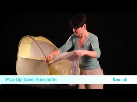 Koo Di Pop Up Travel Bassinette