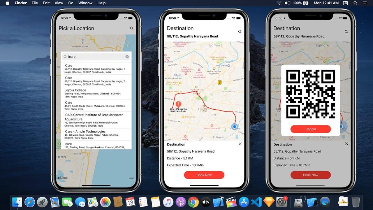 Uber Clone using Firebase in SwiftUI Ep 2 - Taxi App using Firebase in SwiftUI