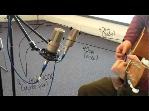 Microphone Techniques - Recording Acoustic Guitar