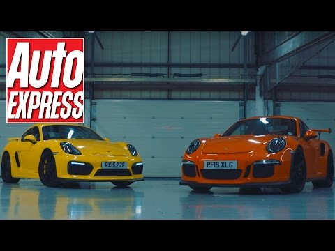Ultimate Porsche track battle: Cayman GT4 vs 911 GT3 RS
