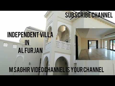 5 bedrooms villa in al furjan by nakheel
