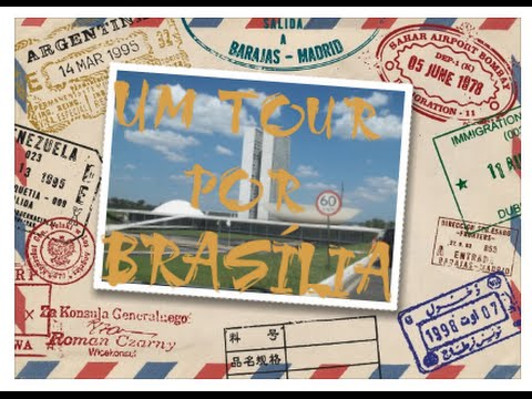 Vlog : Um tour por Brasília  nHu