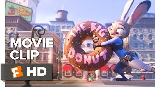 Zootopia Movie CLIP - Have a Donut (2016) - Ginnifer Goodwin, J.K. Simmons Movie HD