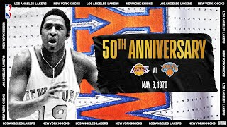 Knicks Capture Their First NBA Title   #NBATogetherLive Classic Game
