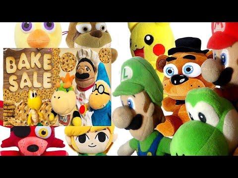 SML Movie: The Bake Sale! Mario And Luigi Reaction (Freddy,Foxy,Chica,Pikachu,Springtrap,Yoshi,Link)