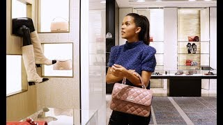 WINTER 2017 COME SHOPPING WITH ME +  CHANEL BAG UNBOXING | Maria Teresa Lopez