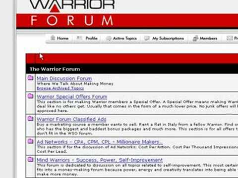 Internet Forum Marketing Secrets