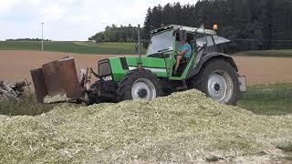 Oldtimer Mais häckseln 2018 (Langenthonhausen)