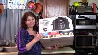 Ninja Foodi Cheesy Shrimp and Grits - Pressure Cooker and Crisper