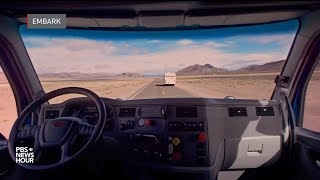 Could driverless vehicles spell the end of the road for truck drivers?