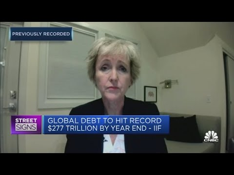 The pandemic has catalyzed a rise in global debt: Institute