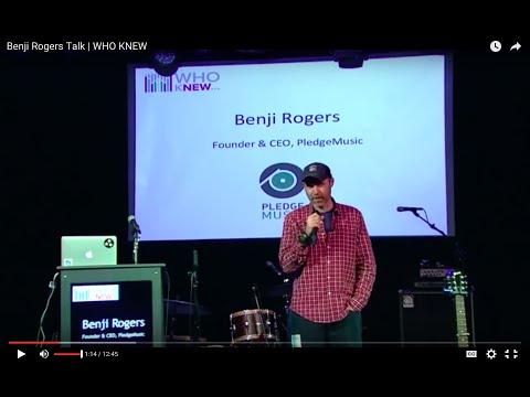 Benji Rogers Talk | WHO KNEW Mp3