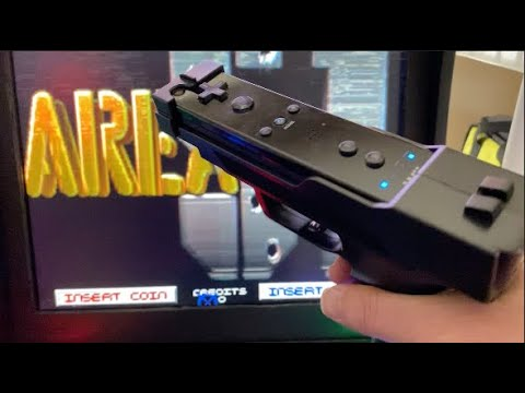 Light Gun Games with a Wiimote on PC on an Arcade1Up Cabinet from Texas Home Arcade Services