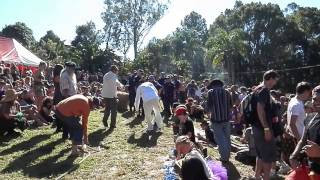 Nimbin Mardi Grass 2013 - Tug of Peace - Poilte vs Police