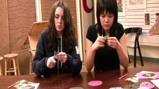 Olympic Ring Snowflakes — Paulina & Emily's Arts 'n' Crafts