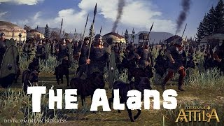 Total War: Attila Playable Factions - The Alans!