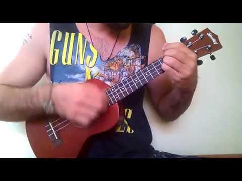 Ukulele Cover Fingerstyle On Melancholy Hill Gorillaz Youtube