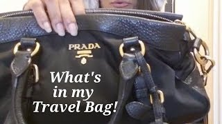 What is my travel bag?