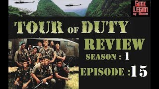 TOUR OF DUTY :  SO1E15 Soldiers ( Olivia d'Abo ) TV Episode Review