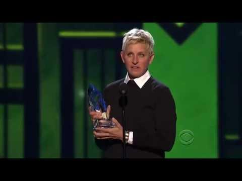 Ellen Degeneres - People Choice Award 2013