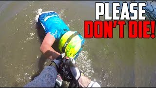 SAVING MY FRIEND FROM DROWNING!