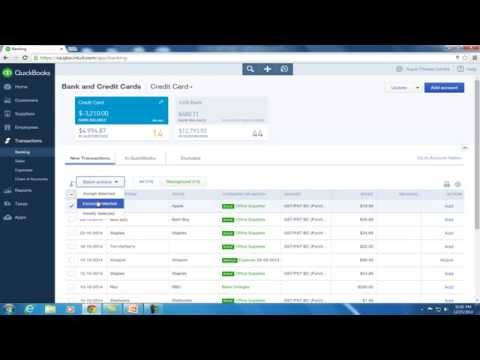 How to Set Up Bank Feeds in QuickBooks Online - YouTube
