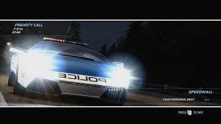 NFS: Hot Pursuit(2010): SCPD Event #38: Rapid Response: Fox Lair Pass: Priority Call