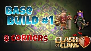 "Download lagu Clash Of Clans - INSANE!! TH9 Farming BASE BUILD ""8 Corners"""