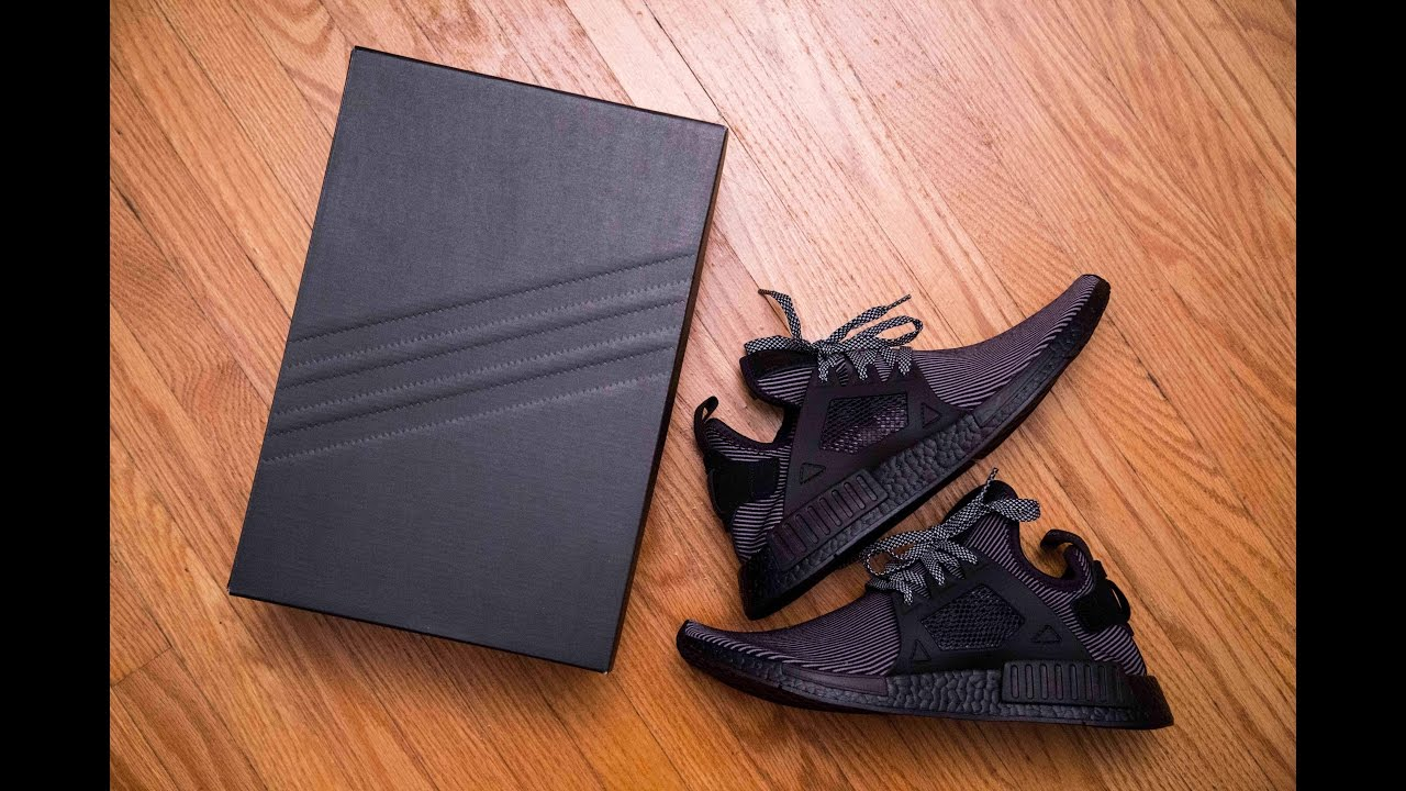 3619e277cd8fe Adidas Triple Black NMD XR1 Review and On Feet - YouTube