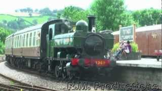Great Western Railway Panniers on the South Devon Railway 12-08-12