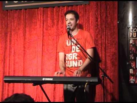 Live on stage in meiner Unterhose