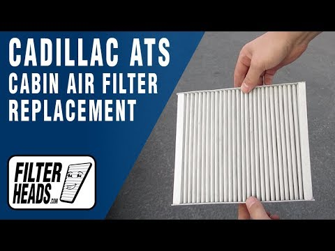 How to Replace Cabin Air Filter 2013 Cadillac ATS