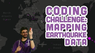 Coding Challenge #57: Mapping Earthquake Data