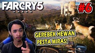 FAR CRY 5 INDONESIA - GEREBEK HEWAN SEDANG PESTA MIRAS - PART 6