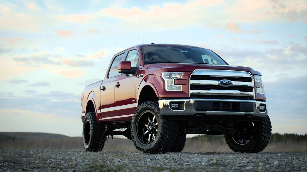 2016 f150 ecoboost 6 rough country youtube. Black Bedroom Furniture Sets. Home Design Ideas