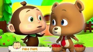 Faux Évanouissement | Vidéo Drôle Pour Les Enfants | Loco Nuts | Fake Faint | Kids Tv Française