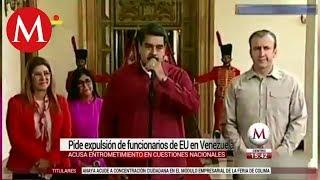 Nicolás Maduro expulsa a máximo diplomático de EU