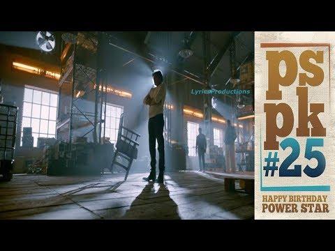 Powerstar Pawan Kalyan's Birthday #PSPK25...