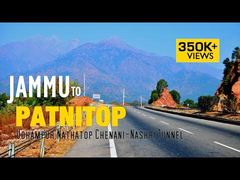 Jammu Udhampur Patnitop Nathatop Chenani-Nashri Tunnel - Road Trip Dec 2017 - 4K Ultra HD