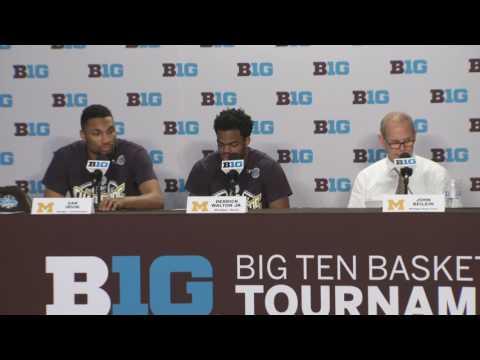 Michigan Press Conference after Big Ten Tournament Championship