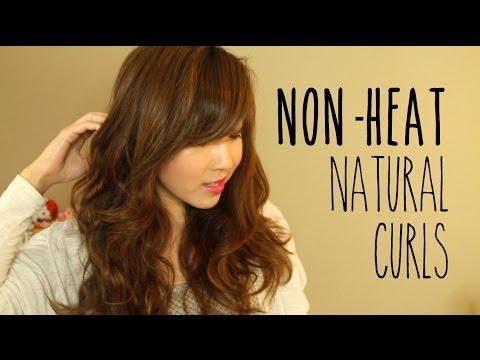 Non-Heat Natural Curls