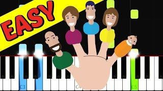 Finger Family Song | Nursery Rhymes Collection | Piano