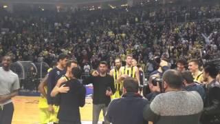Volkan Demirel Melih Mahmutoğlu Ülker Arena'da İşte Böyle Cimboma Böyle Makara Tavan