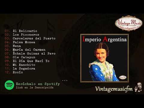 Imperio Argentina. El Relicario, Los Piconeros, Colección España #13 (Full Album/Album Completo)