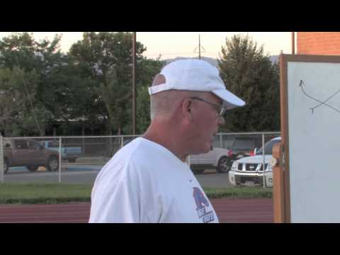 Tom Moore Speaks at Bishop Kelly Football Camp
