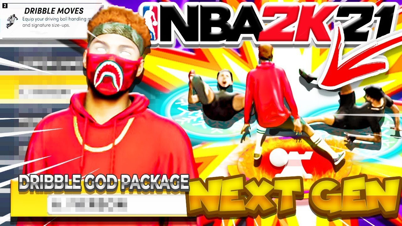 HOW TO DRIBBLE ON NBA 2K21 NEXT GEN! #1 FASTEST DRIBBLE SIGS MADE MY ISO DEMIGOD BUILD UNGUARDABLE!