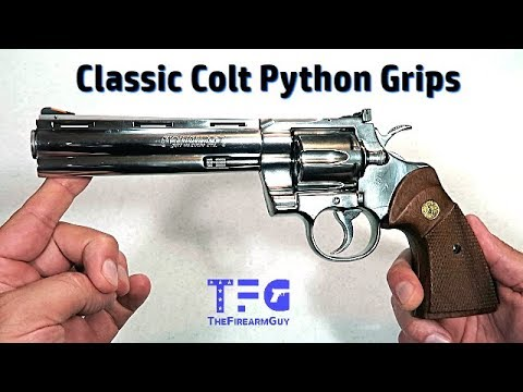 Finally Original Colt Python Grips - TheFireArmGuy