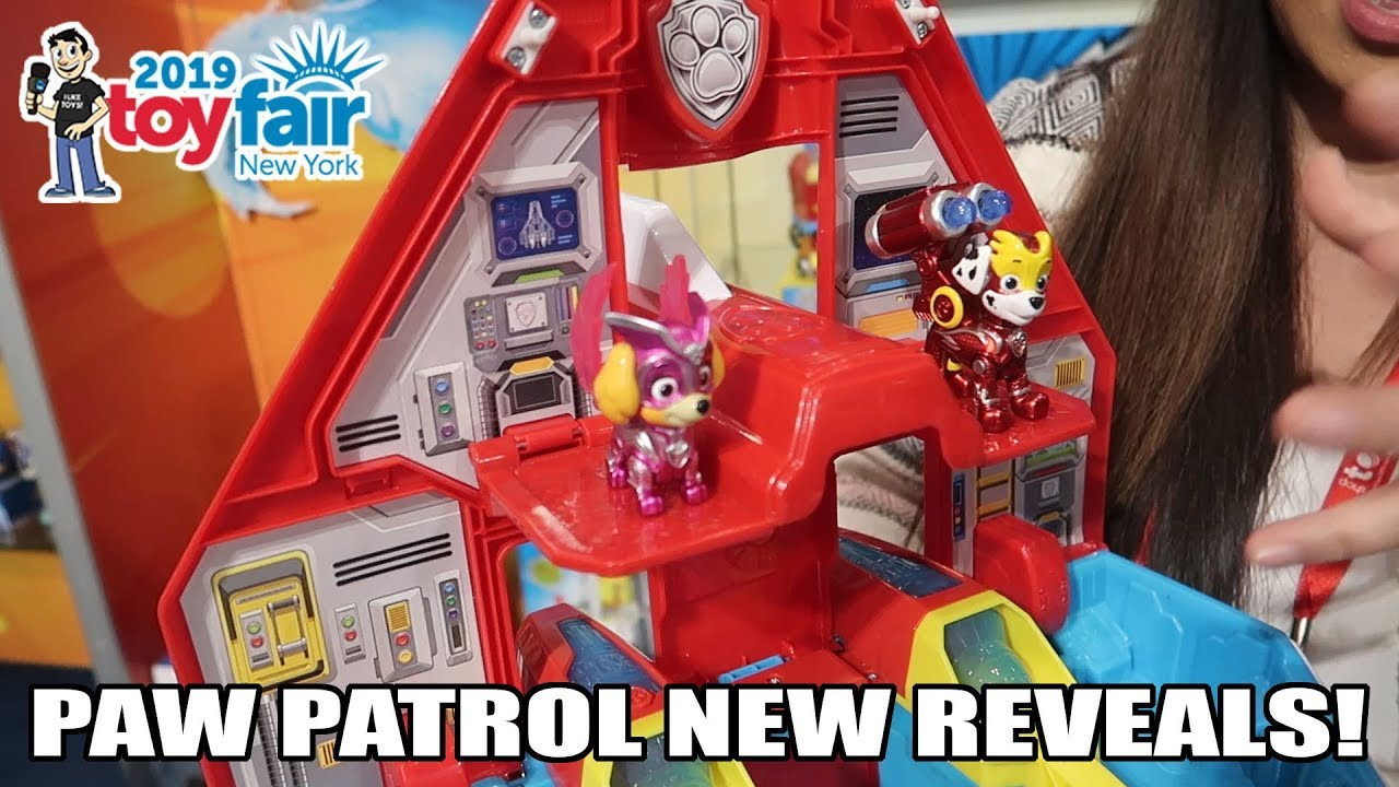 Paw Patrol New Toys At Toy Fair 2019 Youtube