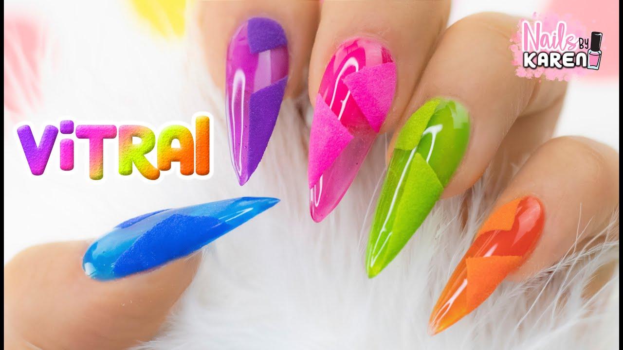 Uñas De Colores 2 Efectos Jelly